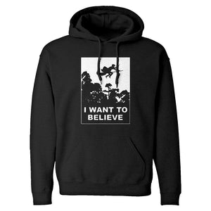 I Want to Believe Wizard Unisex Adult Hoodie
