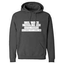 Hoodie I used to be a People Person Unisex Adult Hoodie