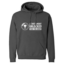 Achievement Unlocked Tied the Knot Unisex Adult Hoodie