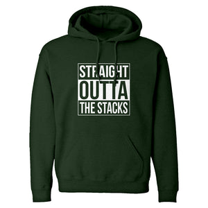 Hoodie Straight Outta the Stacks Unisex Adult Hoodie