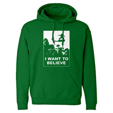 I Want to Believe Nimbus Fighter Unisex Adult Hoodie
