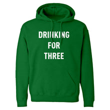 Drinking For Three Unisex Adult Hoodie