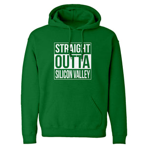 Hoodie Straight Outta Silicon Valley Unisex Adult Hoodie