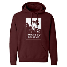 I Want to Believe Super Girls Unisex Adult Hoodie