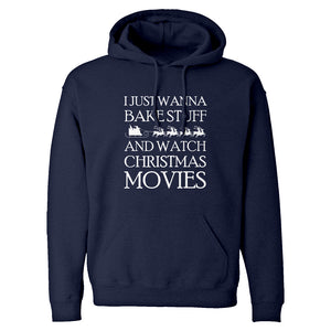 Bake Stuff, Christmas Movies Unisex Adult Hoodie