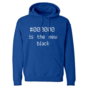 Hoodie 000000 is the new black Unisex Adult Hoodie