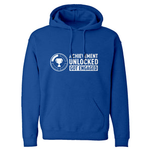 Achievement Unlocked Got Engaged Unisex Adult Hoodie