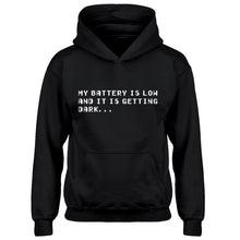 Youth Its Getting Dark Kids Hoodie