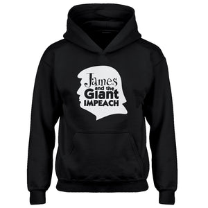 Hoodie James and the Giant Impeach Kids Hoodie