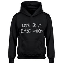 Hoodie Dont Be a Basic Witch Kids Hoodie