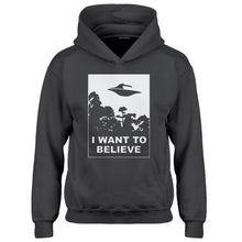 Youth I Want to Believe Kids Hoodie