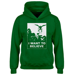 Youth I Want to Believe Shinigami Kids Hoodie