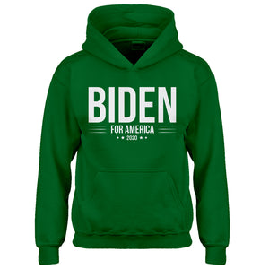 Youth JOE BIDEN for President 2020 Kids Hoodie
