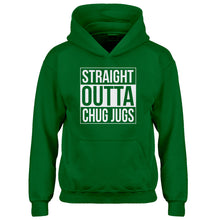 Youth Straight Outta Chug Jugs Kids Hoodie