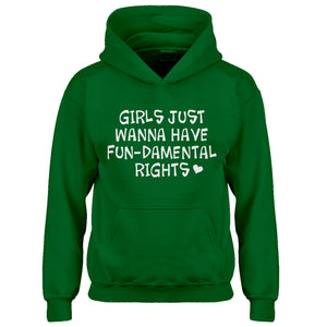 Hoodie Girls Wanna Have Fundamental Rights Kids Hoodie