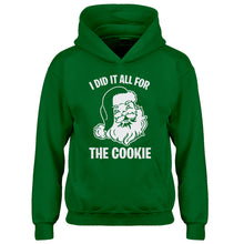 Youth I did it all for the Cookie Kids Hoodie