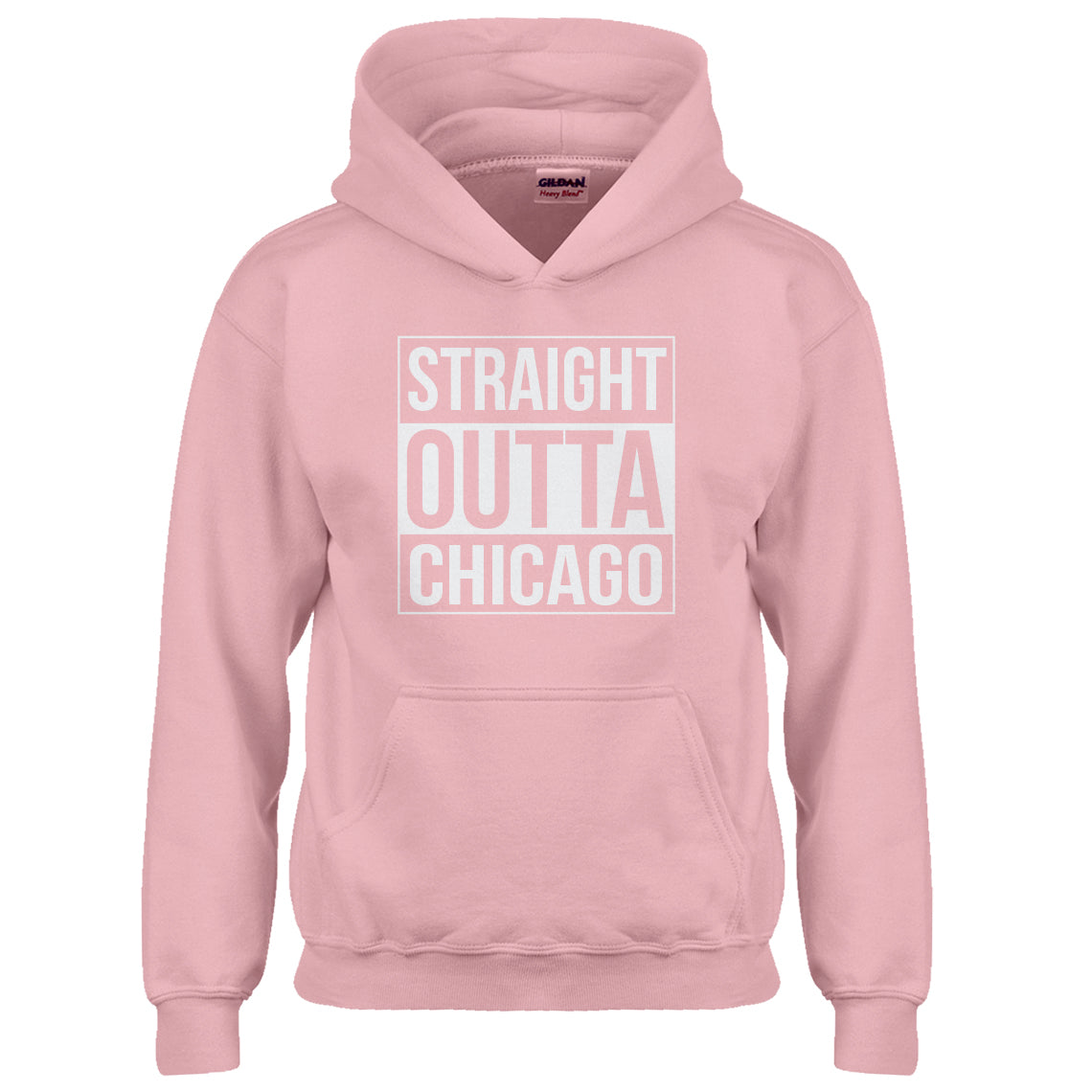Indica Plateau Youth Straight Outta Chicago Kids Hoodie