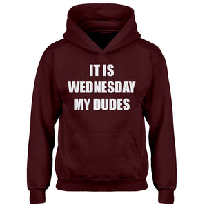 Hoodie It is Wednesday My Dudes Kids Hoodie