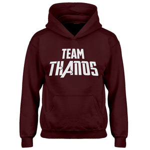 Youth TEAM THANOS Kids Hoodie