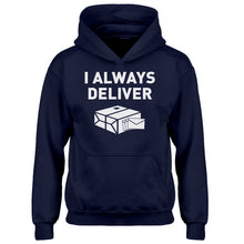 Youth I Always Deliver Kids Hoodie