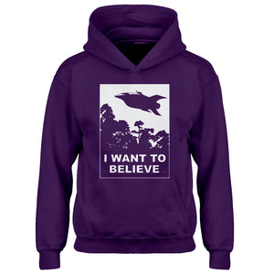 Youth I Want to Believe Planet Express Kids Hoodie