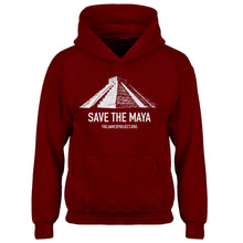 Youth Save the Maya Kids Hoodie
