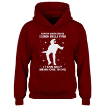 Hoodie When Those Sleigh Bells Ring (was 3109) Kids Hoodie