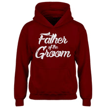 Youth Father of the Groom Kids Hoodie