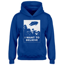 Youth I Want to Believe Star Ship Kids Hoodie