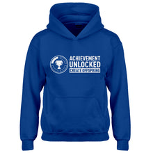 Youth Achievement Unlocked Create Offspring Kids Hoodie