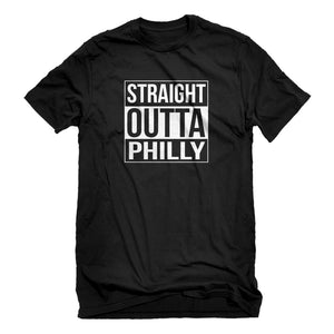Mens Straight Outta Philly Unisex T-shirt