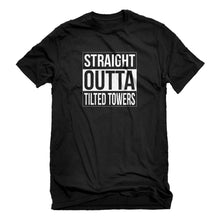 Mens Straight Outta Tilted Towers Unisex T-shirt