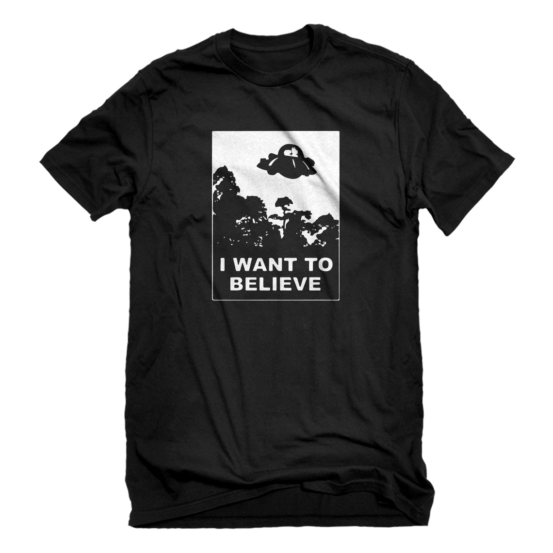 Mens I Want to Believe, Morty Unisex T-shirt