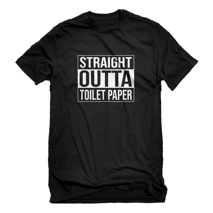 Mens Straight Outta Toilet Paper Unisex T-shirt