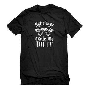 Mens Butterbeer Made Me Do It Unisex T-shirt
