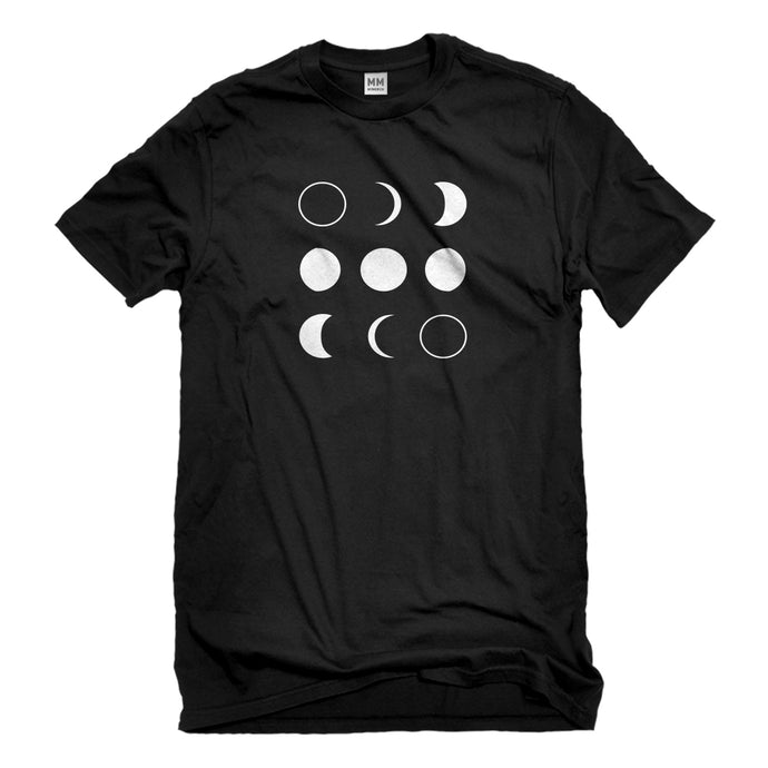 Mens Moon Phases Unisex T-shirt