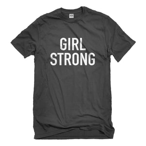 Mens Girl Strong Unisex T-shirt