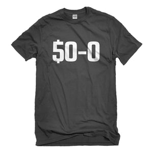 Mens 50-0 Undefeated Unisex T-shirt