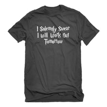 Mens Solemnly Swear to Work Out Unisex T-shirt