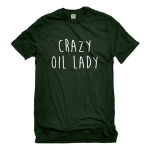 Mens Crazy Oil Lady Unisex T-shirt