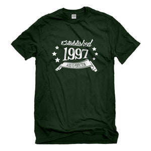 Mens Established 1997 Unisex T-shirt
