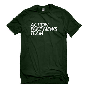 Mens Action Fake News Team Unisex T-shirt