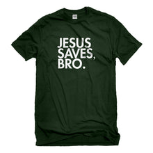 Mens Jesus Saves Bro Unisex T-shirt