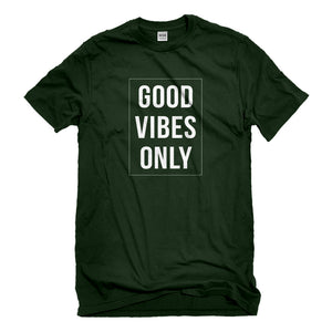 Mens Good Vibes Only Unisex T-shirt