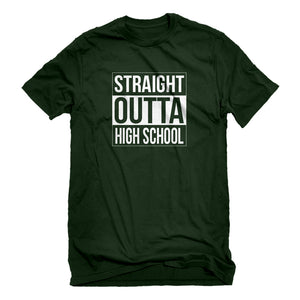 Mens Straight Outta High School Unisex T-shirt
