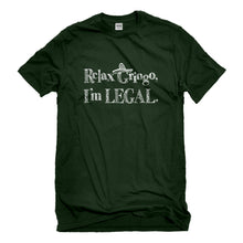 Mens Relax Gringo I'm Legal Sombrero Unisex T-shirt
