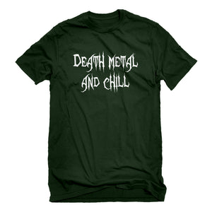 Mens Death Metal and Chill Unisex T-shirt