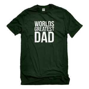 Mens Worlds Greatest Dad Unisex T-shirt