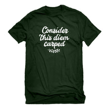 Mens Consider this Diem Carped Unisex T-shirt