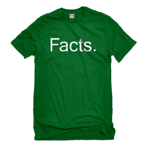 Mens Facts. Unisex T-shirt